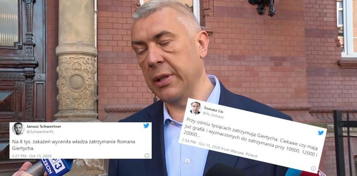 Opozycyjni dziennikarze: Zatrzymanie Giertycha ma przykryć pandemię  - zdjęcie