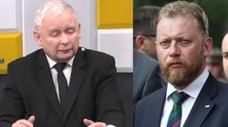 Jarosław Kaczyński o atakach na min. zdrowia: Śmiechu warte - miniaturka