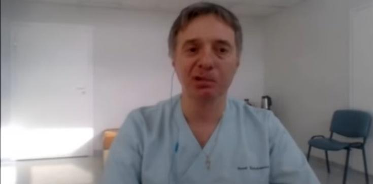Dr Basiukiewicz o maseczkach: Działania rządu przypominają ministerstwo z Monty Pythona - zdjęcie