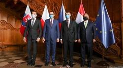 Premier Morawiecki na ppotkaniu grupy V4 przed szczytem UE - miniaturka