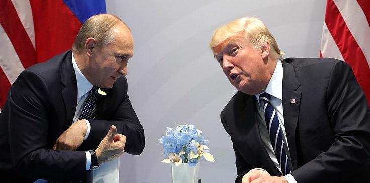 Rozmowy na linii Trump-Putin - zdjęcie