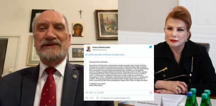 Antoni Macierewicz odpowiada Mosbacher: Napisałem prawdę i tylko prawdę - zdjęcie
