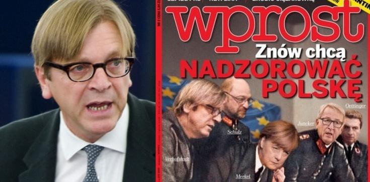 Co za tupet! Polakożerca Verhofstadt ogłasza, że nas nie przeprosi - zdjęcie