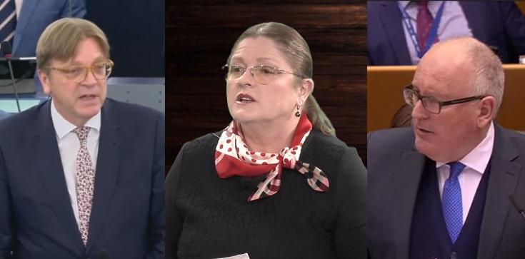 Prof. Pawłowicz do Timmermansa i Verhofstadta: ldźcie wreszcie do diabła! - zdjęcie