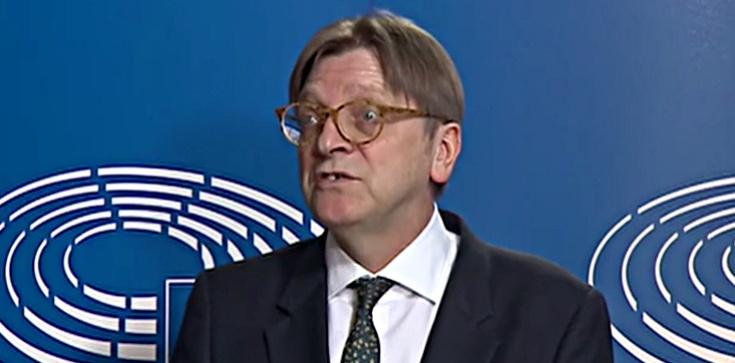 Co za obrzydlistwo! Verhofstadt podle kłamie, by oczerniać Polskę - zdjęcie