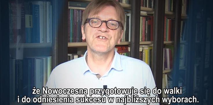 Verhofstadt tak bardzo martwi się o demokrację w Polsce przez zbieżność interesów z Petru?OTO jego akt poparcia! - zdjęcie