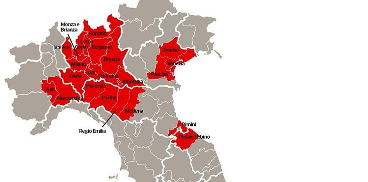Koronawirus. Połowa Włoch odcięta od świata - zdjęcie