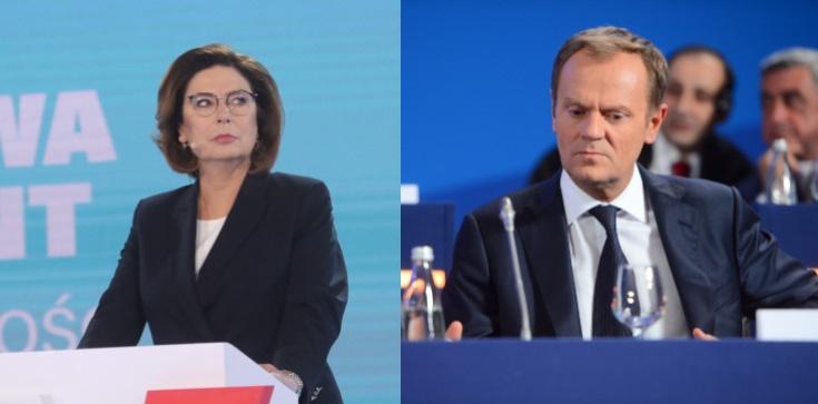 Tusk nakazał radykalizację, Platforma posłuchała i wywróciła kampanię swojej kandydatki - zdjęcie