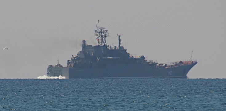 Wzrost napięcia na Morzu Czarnym - zdjęcie