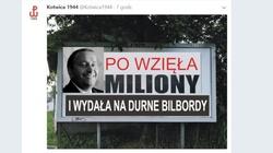 Kampania billboardowa odbije się opozycji totalnej czkawką - miniaturka