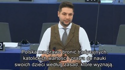 Brawo! Patryk Jaki broni Polski. ,,Od Polaków moglibyście się jeszcze wiele nauczyć. Zostawcie nas w spokoju!'' - miniaturka