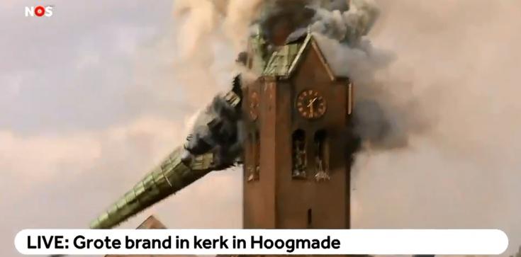Spłonął historyczny kościół. Pan Bóg daje znak? Kiedy Zachód się opamięta?! - zdjęcie