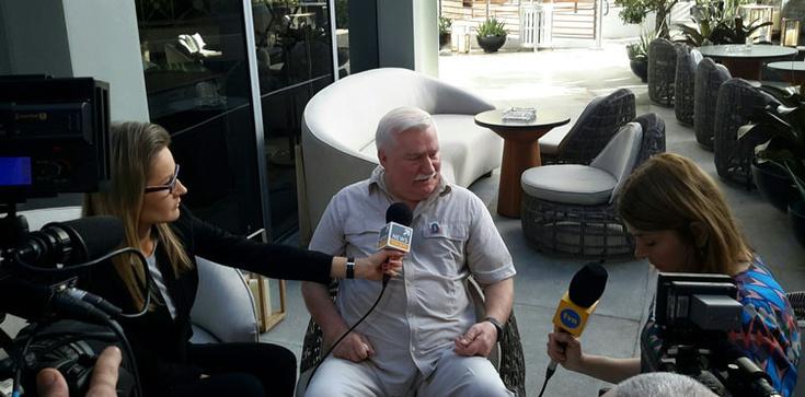 Cud! Wałęsa: Byłem teraz w Miami, miałem spotkania, a między spotkaniami pochodziłem po wodzie - zdjęcie