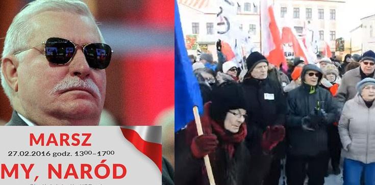 Komitet Obrony Donosicieli maszeruje ulicami Warszawy - zdjęcie