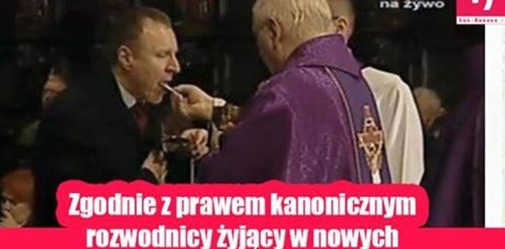 Komunia święta to 'łykanie wafelków'? Dziwny wpis na profilu katolika Wałęsy...  - zdjęcie