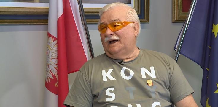 Dno i metr mułu... Wałęsa przeszedł samego siebie - zdjęcie