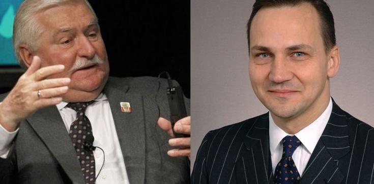 Przypominamy! Radosław Sikorski: Panie Lechu, pan się nie przejmuje tym, co niektóre karły moralne w tej chwili wygadują - zdjęcie
