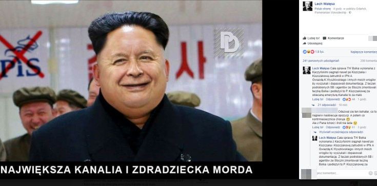 SKANDAL! Wałęsa: Oto największa kanalia i zdradziecka morda - zdjęcie