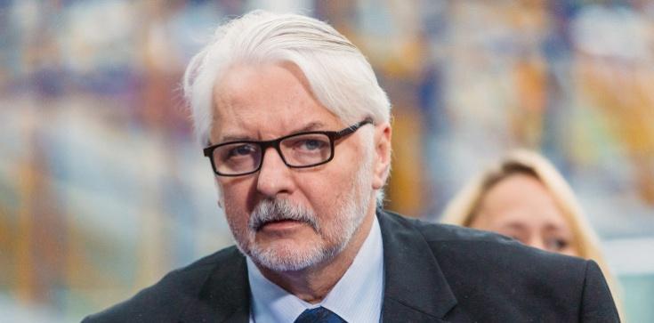 Waszczykowski o doniesieniach RMF FM: Jeśli to prawda, to przegraliśmy polską suwerenność - zdjęcie