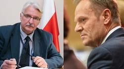 Waszczykowski: Tusk nie pomaga w realizacji żadnego polskiego interesu ani w UE ani poza nią - miniaturka