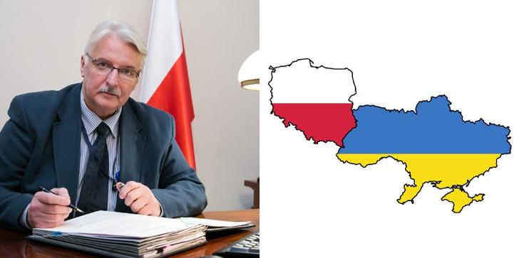 """Minister Waszczykowski: Do polsko - ukraińskiego pojednania dojdzie """"szybciej niż później"""" - zdjęcie"""