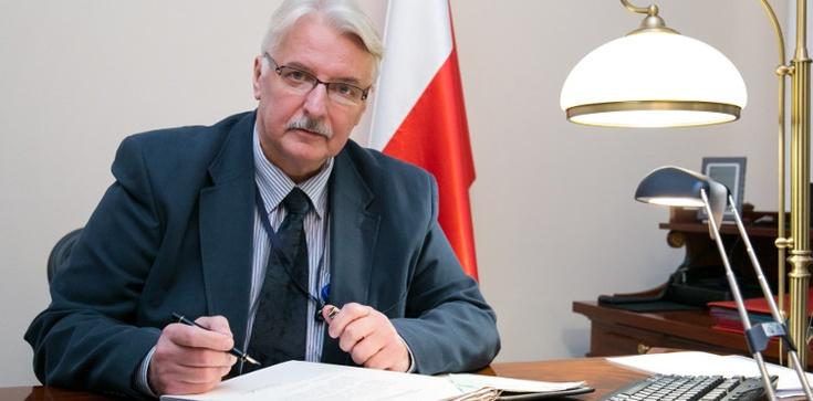 Waszczykowski: Zwrot wraku warunkiem dobrych relacji polsko-rosyjskich - zdjęcie