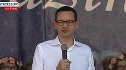 Premier Morawiecki: Stoimy na straży polskiej wiary - miniaturka