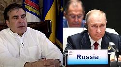 Saakaszwili pisze do Zełenskiego: jestem osobistym więźniem Putina - miniaturka