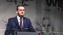 Premier Morawiecki w Wieluniu: Tu objawił się barbarzyński zamysł Niemców - miniaturka