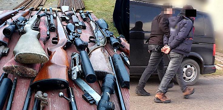 Cela plus: Groźny gang handlarzy bronią rozbity - zdjęcie