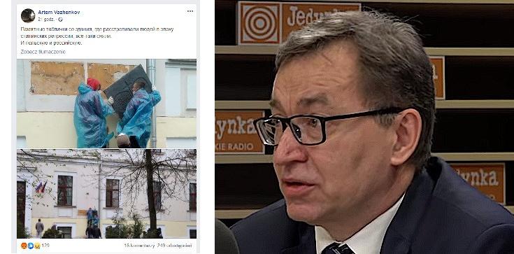 W Rosji zdjęto tablicę poświęconą ofiarom Katynia. Szef IPN: To powrót do narracji komunistycznej, stalinowskiej - zdjęcie