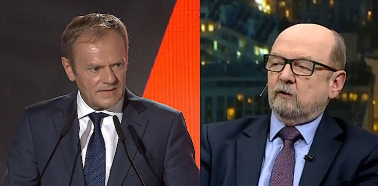 Prof. Ryszard Legutko: Patrzę na Tuska, jak na rzadki przypadek zła w polityce - zdjęcie