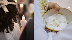 Przyjęły Pierwszą Komunię Świętą i umarły…  z miłości do Jezusa. - miniaturka