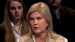 Iwona Arent: Nitras mnie kopnął. Sprawa toczy się w prokuraturze - miniaturka
