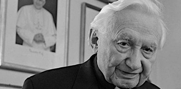 Nie żyje brat papieża seniora Benedykta XVI, ks. Georg Ratzinger - zdjęcie