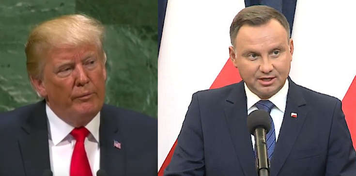 Gratulacje dla prezydenta Dudy po słowach Trumpa w ONZ, Polska jednym z głównych tematów rozmów - zdjęcie