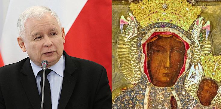 Jarosław Kaczyński spędził niedzielny wieczór wyborczy na Jasnej Górze - zdjęcie