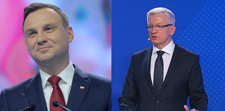 Sondaż zaufania: Prezydent Andrzej Duda liderem, Jaśkowiaka i Grodzkiego mało kto zna - zdjęcie