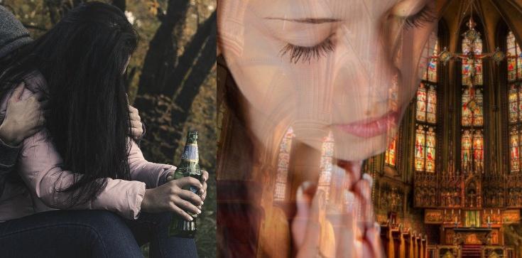 ,,Chwała Panu!'' Jezus uzdrowił ją z alkoholizmu - zdjęcie