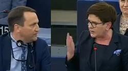 Beata Szydło o Sikorskim: Powinnam podać go do sądu! Internauci odpowiadają na ataki europosła PO - miniaturka