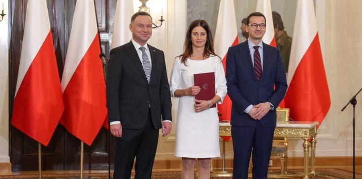 Danuta Dmowska-Andrzejuk nową minister sportu - zdjęcie