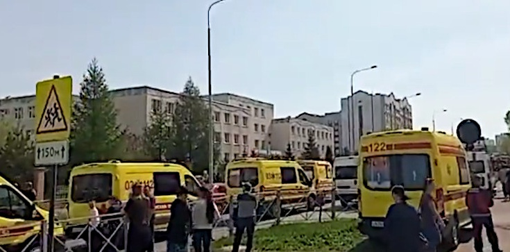 Horror w Rosji! Strzelanina w szkole w Kazaniu, wiele ofiar śmiertelnych - zdjęcie