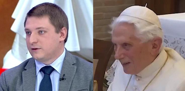 ,,To ogromny problem''. Chmielewski o rezygnacji Benedykta XVI  - zdjęcie