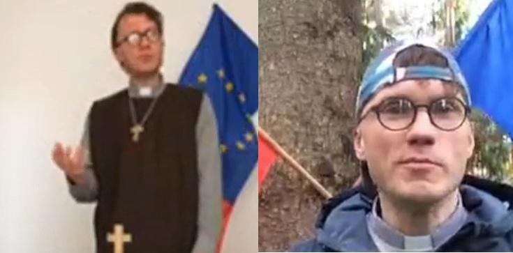 Gdzie jest prokurator: Spalił flagę Polski, teraz chwali się profanacją Mszę świętą - zdjęcie