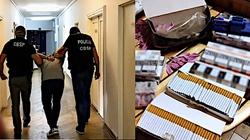 Cela Plus: Gang handlarzy lewymi papierosami rozbity przez CBŚP. Skarb Państwa mógł stracić 3,5 mln zł - miniaturka