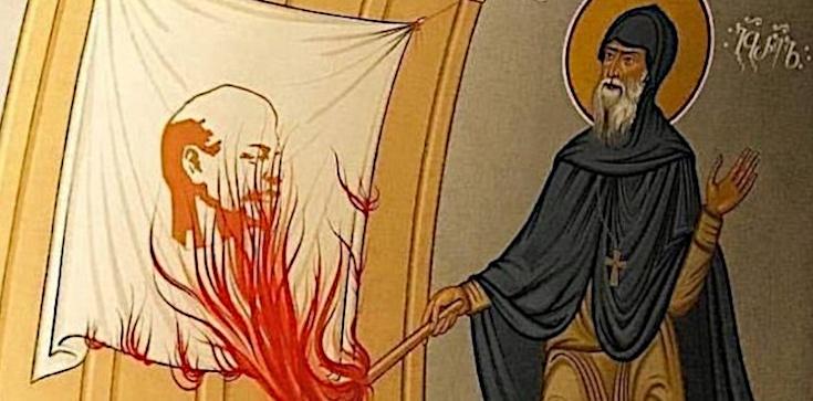 Gabriel Urgebadze - mnich, który podpalił portret Lenina - zdjęcie