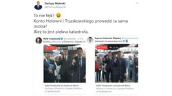 Konto Hołowni i Trzaskowskiego prowadzi ta sama osoba?  - miniaturka