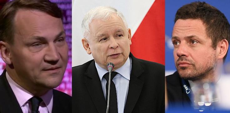 Kaczyński: Sikorski i Trzaskowski nie nadają się na prezydenta. Nie daj Panie Boże, żeby mieli wpływ na Polskę! - zdjęcie