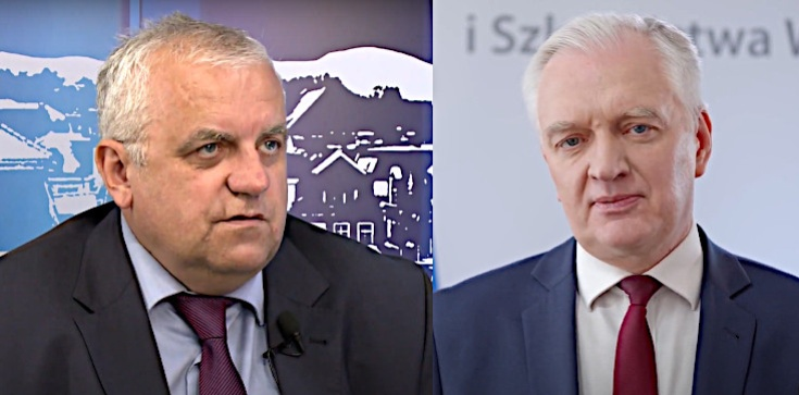 Adam Lipiński jasno o doniesieniach nt. Gowina: To by oznaczało zerwanie wszelkich kontaktów politycznych - zdjęcie