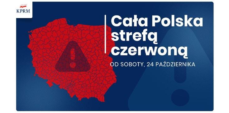 Od dziś cała Polska strefą czerwoną. Co się zmienia? - zdjęcie